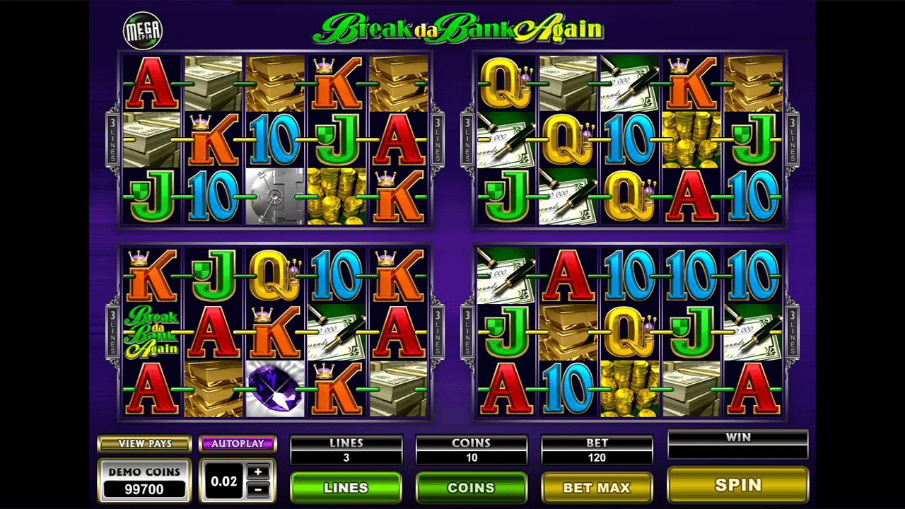 Mega Spins Break Da Bank Again 9