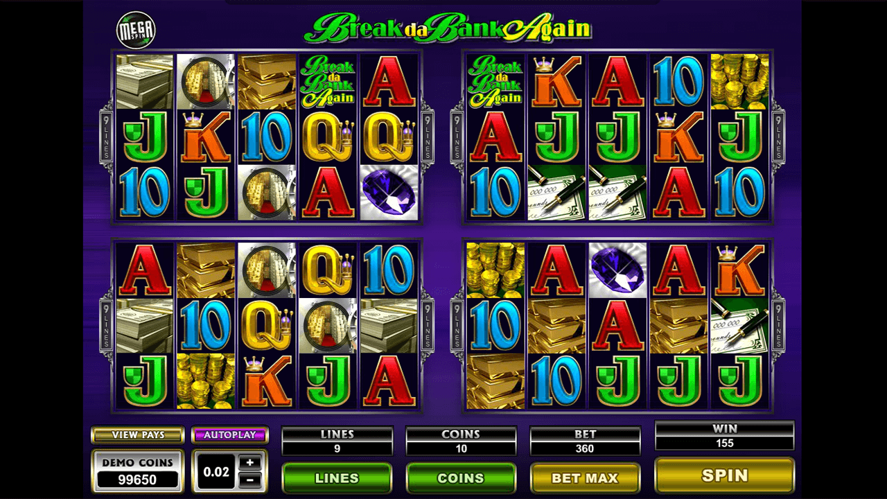 Mega Spins Break Da Bank Again 4