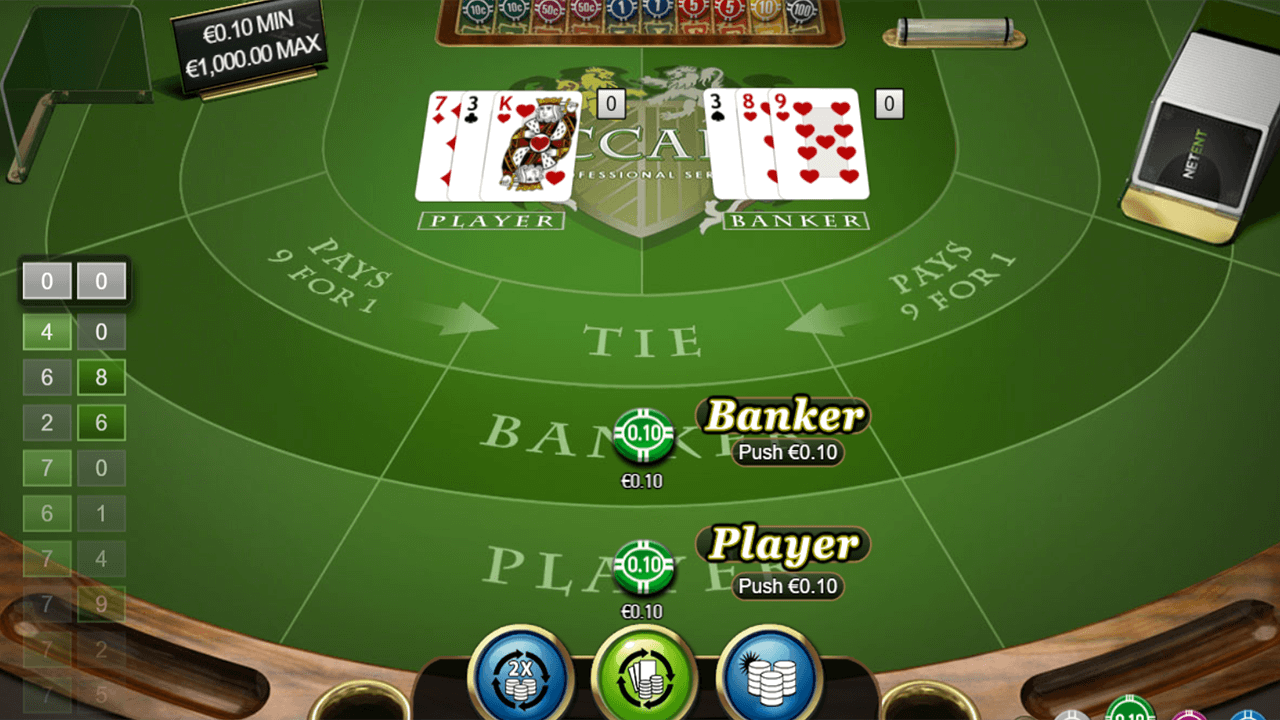 Baccarat Pro Series Table Game 10